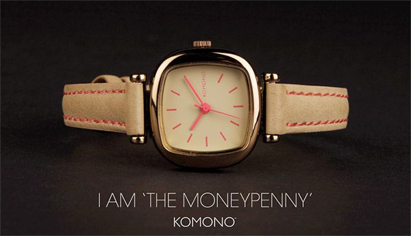 KOMONO Moneypenny Damenuhr - perfekte Kombination von Klassik und neuem Design. http://www.uhrcenter.de/uhren/komono/armbanduhren/komono-moneypenny-damenuhr-kom-w1206/ #Komono #Damenuhr