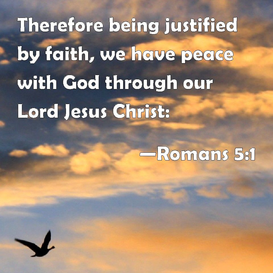 justification by faith romans