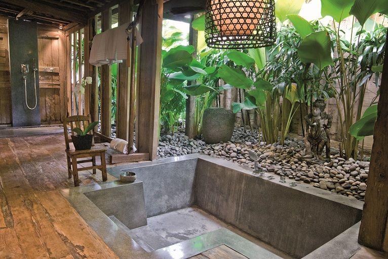 salle de bain balinaise pinterest b der rund ums haus und runde. Black Bedroom Furniture Sets. Home Design Ideas