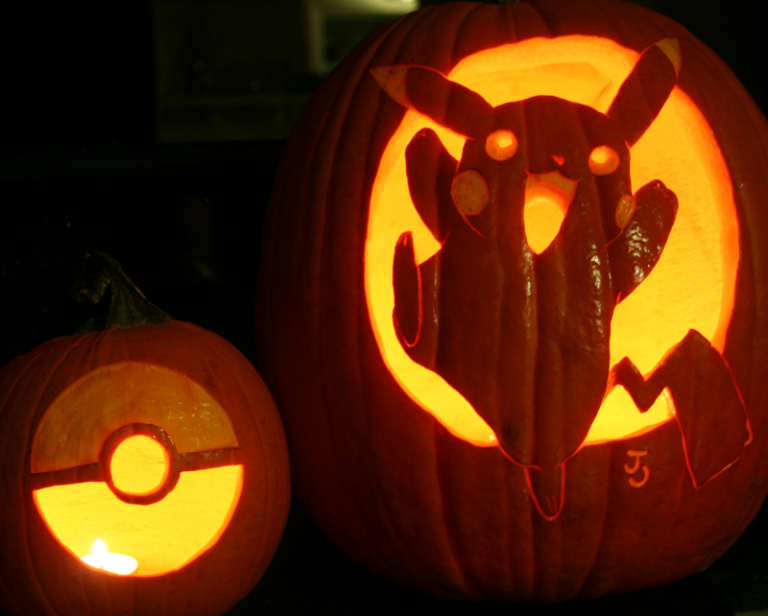 29 Creative Pumpkin Faces To Carve For Halloween Pokemon Pumpkin Pumpkin Carving Creative Pumpkin Carving