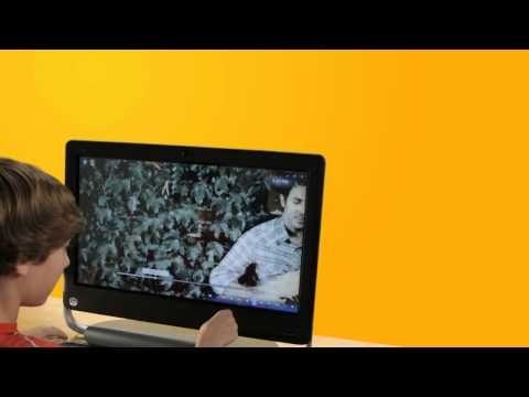 Con el HP TouchSmart 520 y Windows 7 tendrás un mundo digital al alcance de la mano