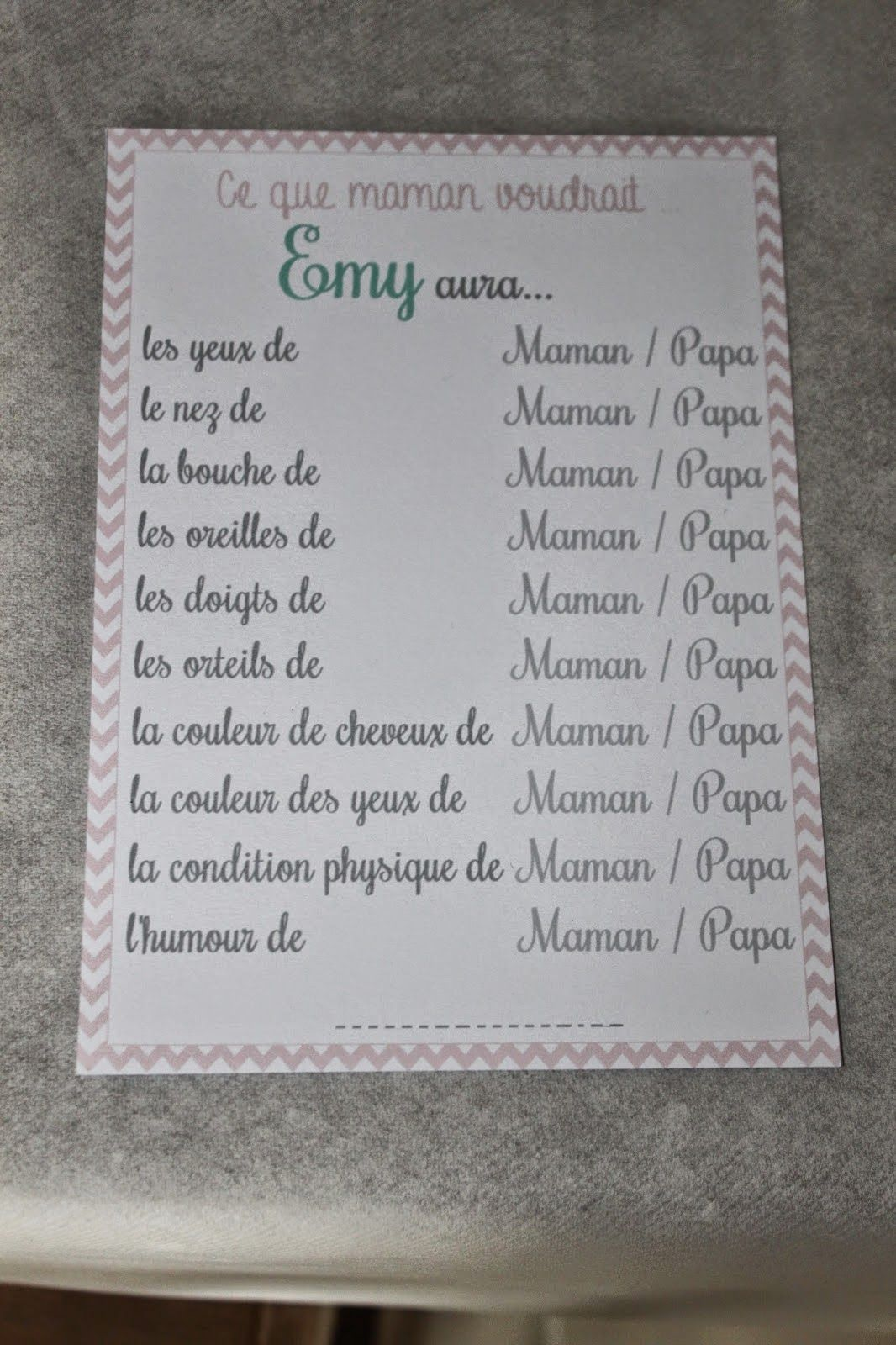 Baby shower pour emy baby shower party pinterest babies babyshower and shower party - Idee baby shower fille ...