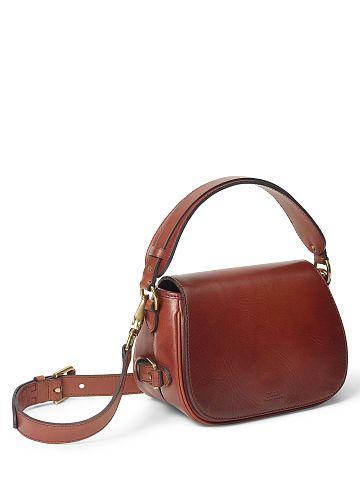 08c47cf097d7 Small Sullivan Saddle Bag - Polo Ralph Lauren New Arrivals - RalphLauren.com