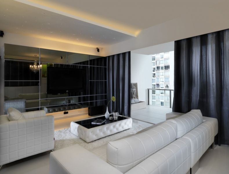 This is an interior design for the singapore 39 the seaview for Did interior design