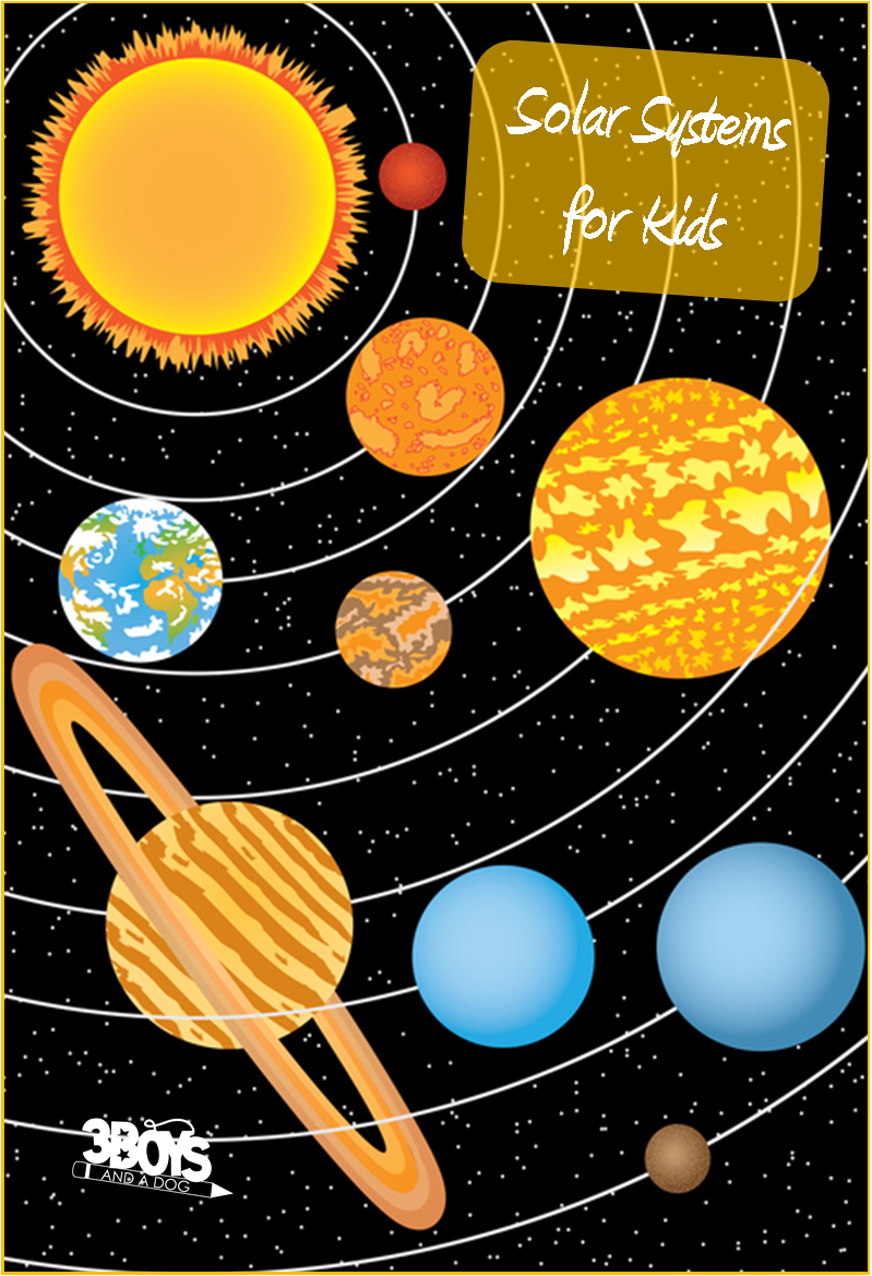solar system for kids - HD 799×1169