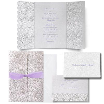 Symphony of Lace Wedding Invitation Wedding Plans/Ideas