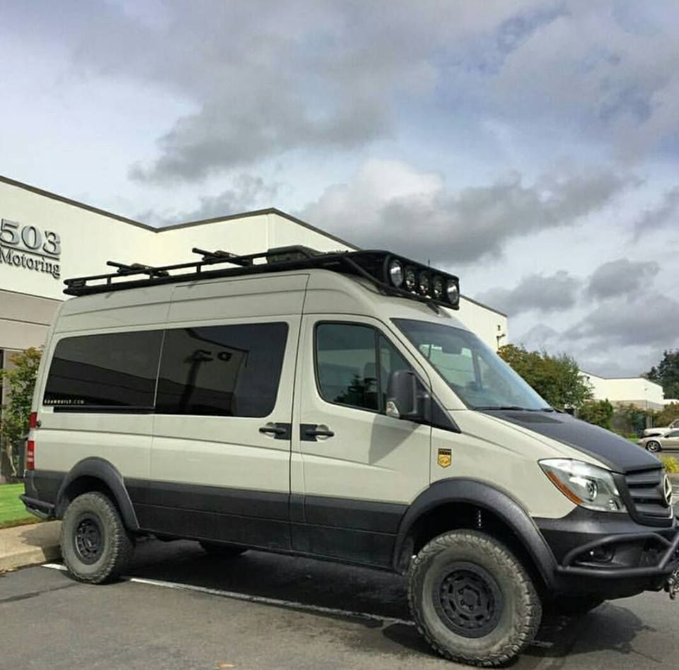 Mercedes sprinter 4x4 sprinter van pinterest for Mercedes benz conversion van