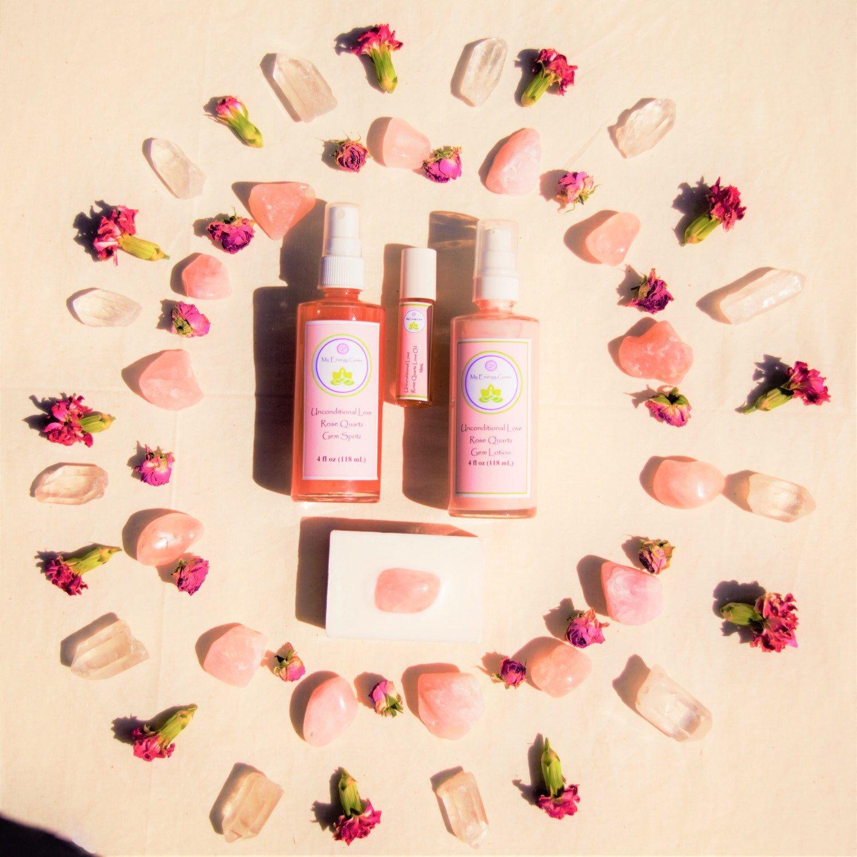 Unconditional Love Rose Quartz Collection 💕 Love rose