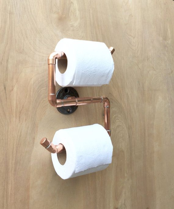 Doble Sostenedor De Papel Higiénico Baño De Tubo De Por Unique Rustic Bathroom Hardware Design Ideas