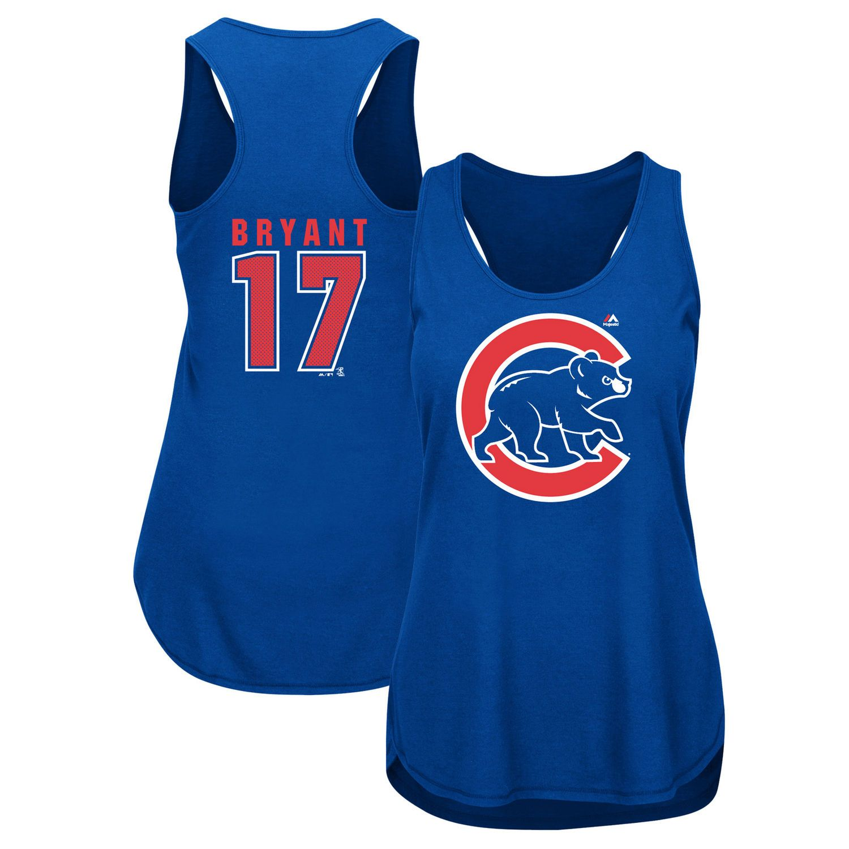 Kris Bryant Chicago Cubs Majestic Women s Men of October Player Tank