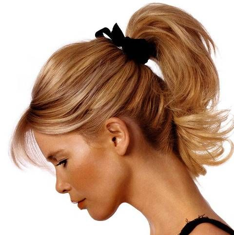 Cool 1000 Images About Hair Ponytail On Pinterest Short Hairstyles For Black Women Fulllsitofus