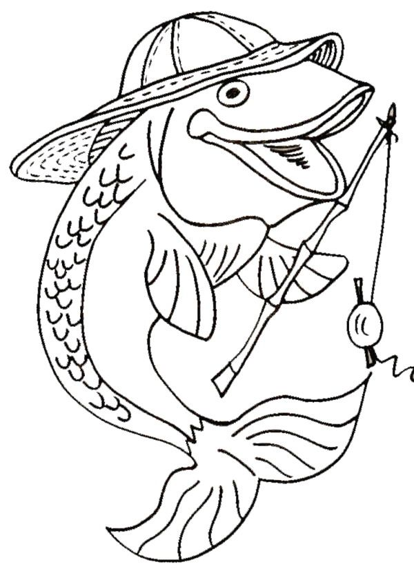 Coloring Book Page In 2021 Fish Coloring Page Coloring Pages Coloring Pages For Kids