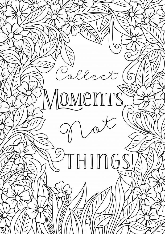 Free Printable Uplifting Colouring Pages to lift your mood | Color ...