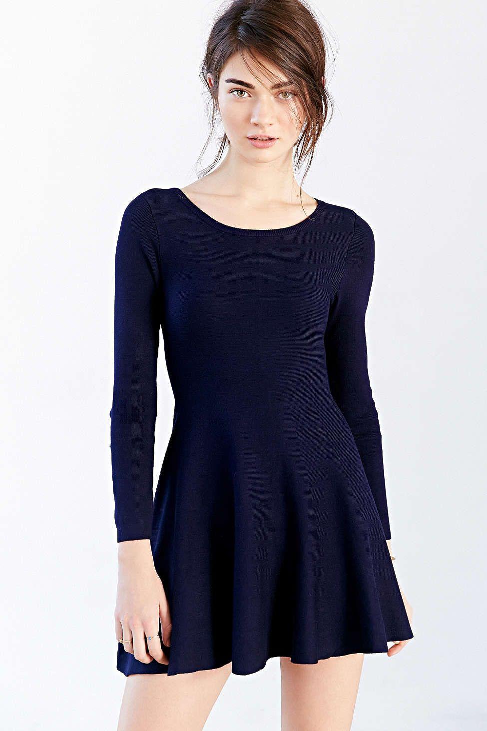 Glamorous Long-Sleeve Sweater Dress