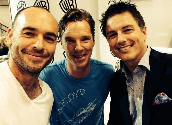 Barrowman and Cumberbatch. Together.