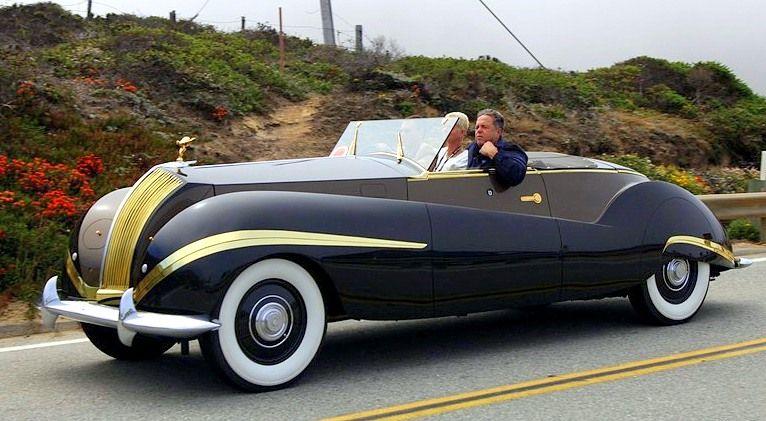1939 Rolls Royce Phantom Iii Labourdette Rebodied In 1947 By