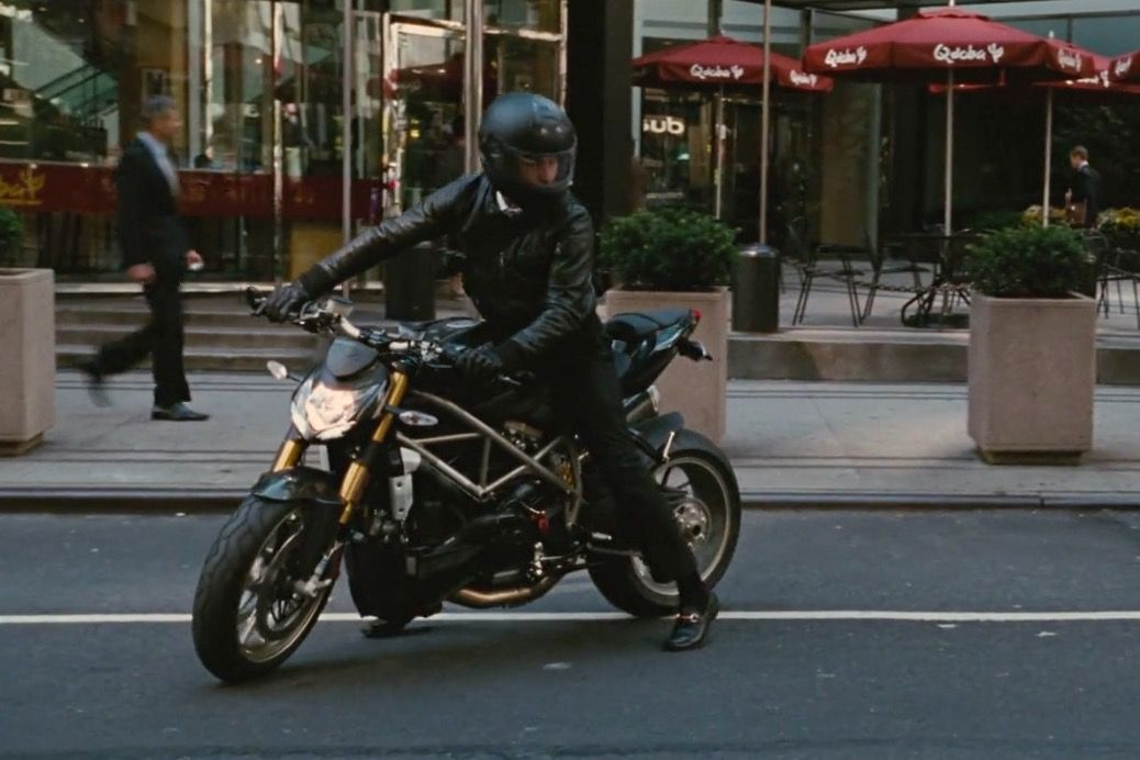 ducati streetfighter motorcycle driven by shia labeouf in on wall street id=70225