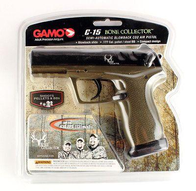 Air Pistols 178887: Gamo C-15 Bone Collector 611139354 Pellet/Bb Air Pistol 0.177Cal,430Fps -> BUY IT NOW ONLY: $73.03 on eBay!