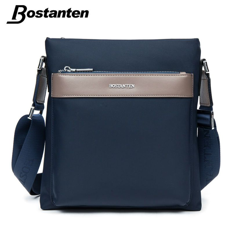 6c36a1711 Bostanten Small Mens Waterproof Nylon Messenger Bag Male Casual Shoulder  Bags High Quality Brand Design Cross Body Bags Men