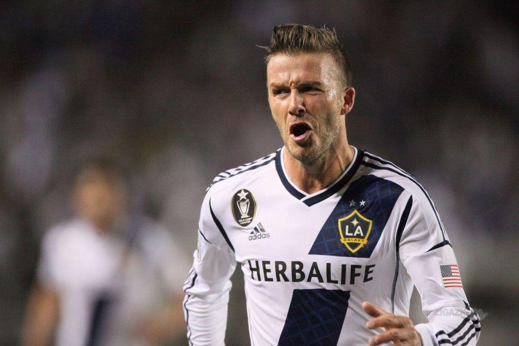David Beckham 23 L A Galaxy David Beckham Shorts David Beckham