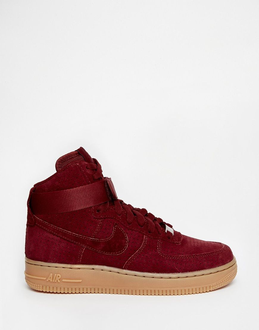 nike airforce rouge