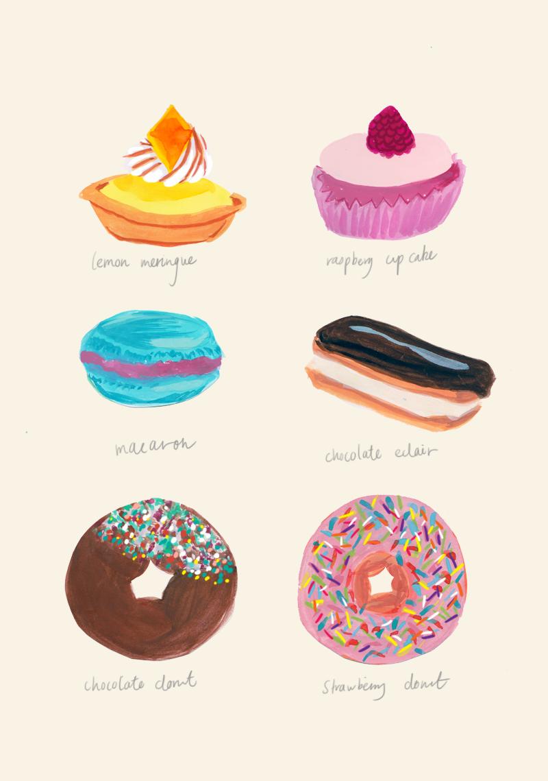Petit Fours - Jessica Singh - illustrator