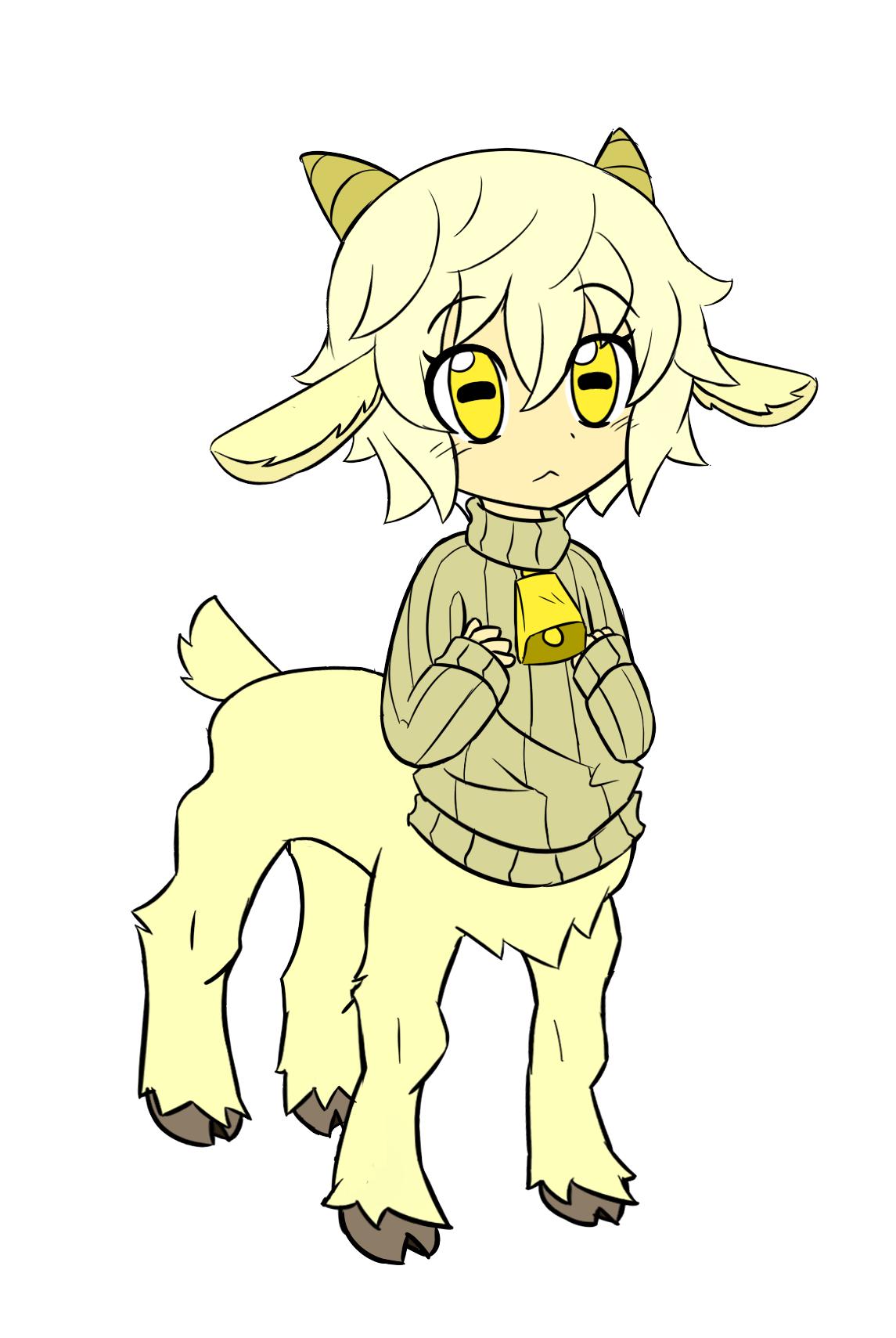 Fainting Goat Girl Centaur