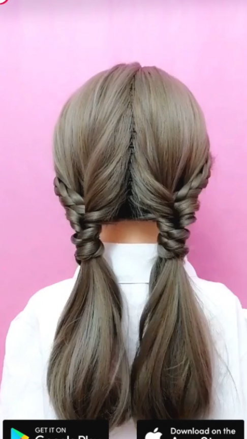 Super Easy To Try A New Hairstyle Download Tiktok Today To Find More Amazing Videos Also You Can Post Videos To In 2020 Long Hair Styles Kids Hairstyles Hairstyle