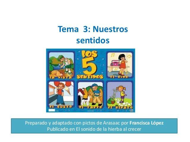Tema 3.nuestros sentidos by Anabel Cornago via slideshare