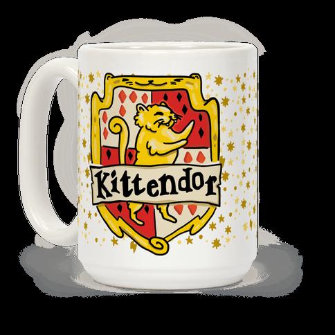 Kittendor Mug Harry potter obsession, Cat coffee, Cat