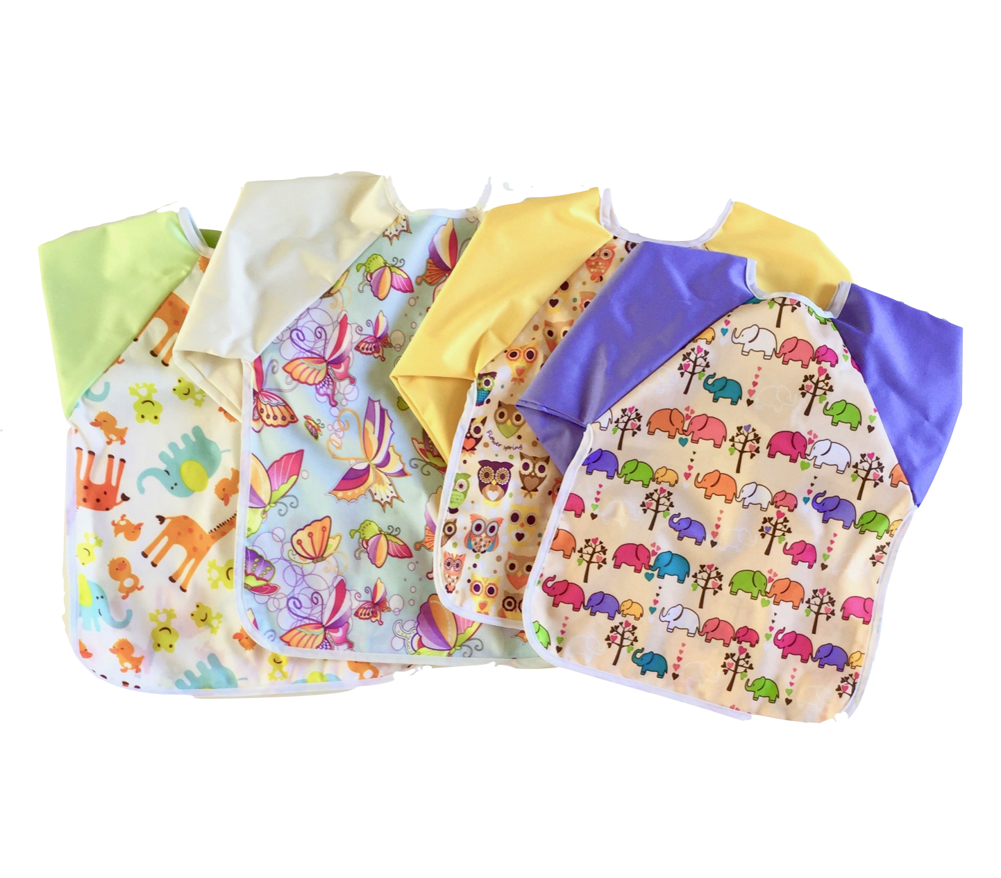Li'l Creatures Coverall Bib (With images) Coverall bibs