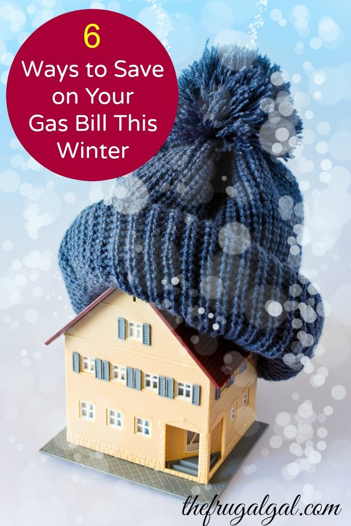 Having a cold winter this year? Is your gas bill sky high? Below are 6 amazing tips on how to save on your gas bill during winter!