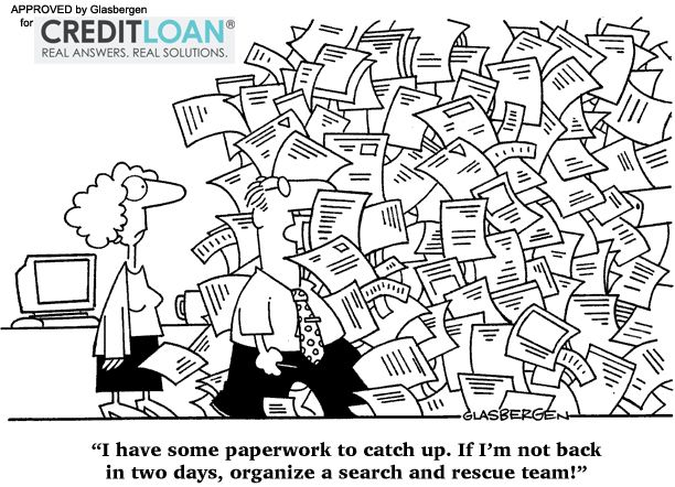 Funny Cartoon About Being Busy Accounting Humor Work Humor Cartoon