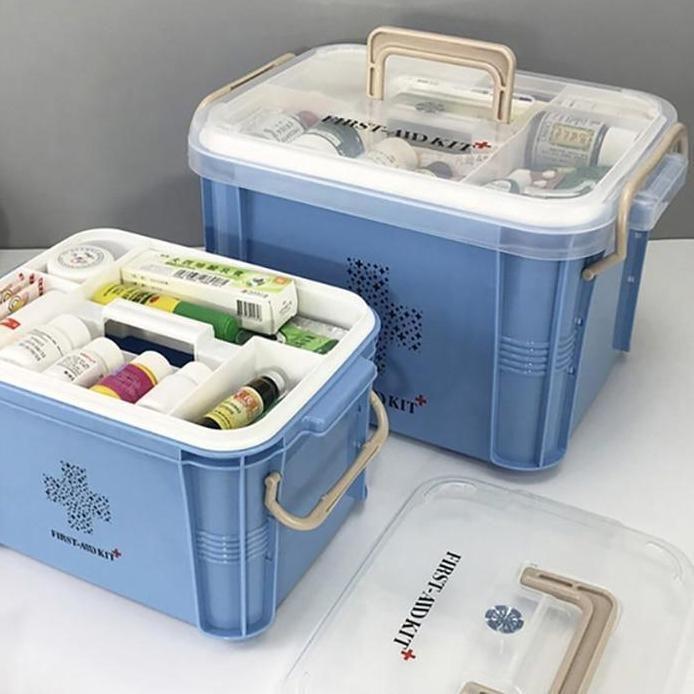 Buy Medicine Box First Aid Kit Box Plastic Container Online Narvay Com First Aid Kit Box Medicine Boxes Medicine Storage