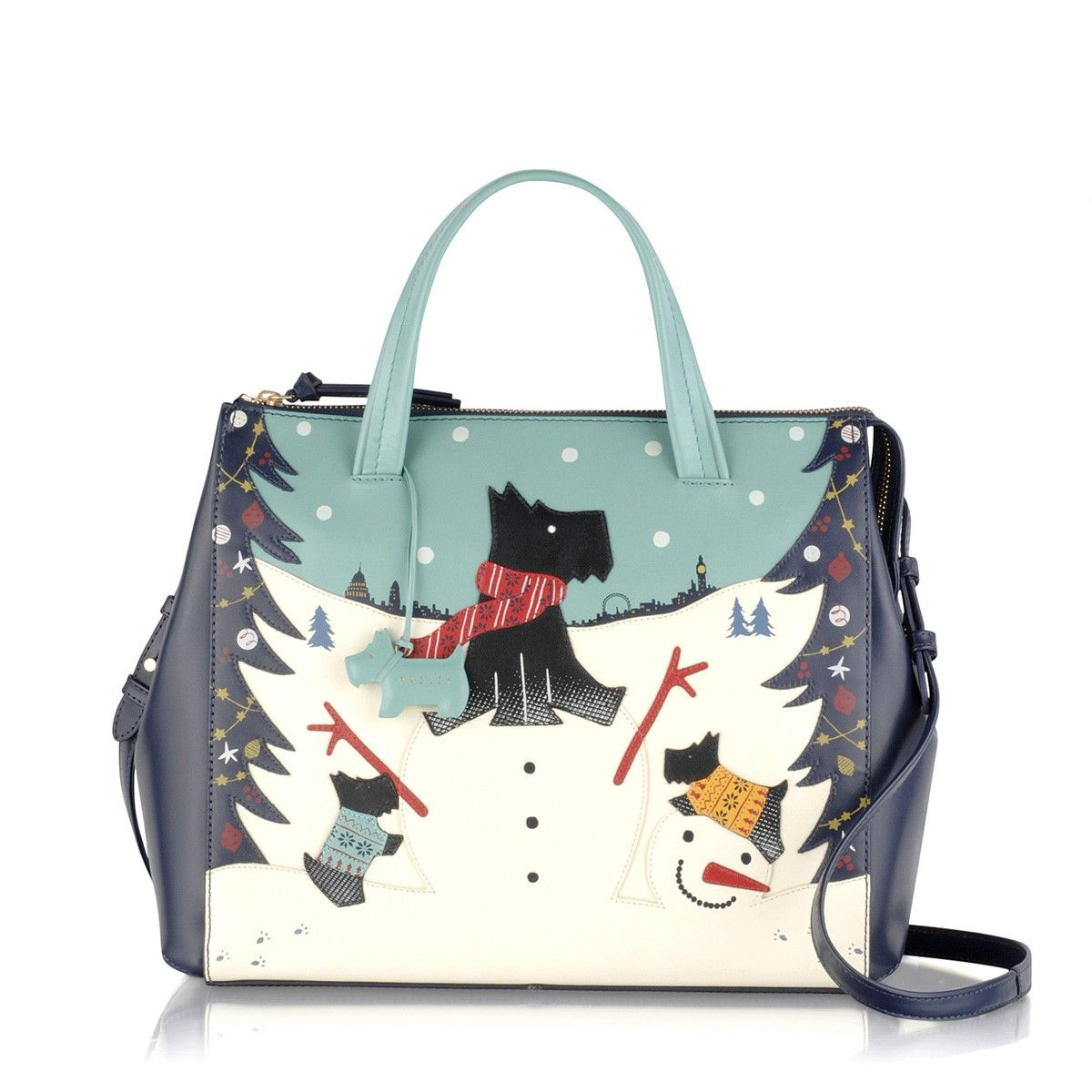 The Snow Days Large Zip Top Grab Is A Fabulous Limited Edition Picture Bag That S Sure To Spread Plenty Of Festive Cheer