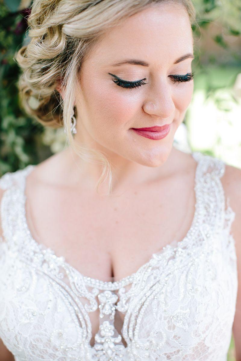 Lodge Wedding Venue in Denton Texas Fair skin makeup