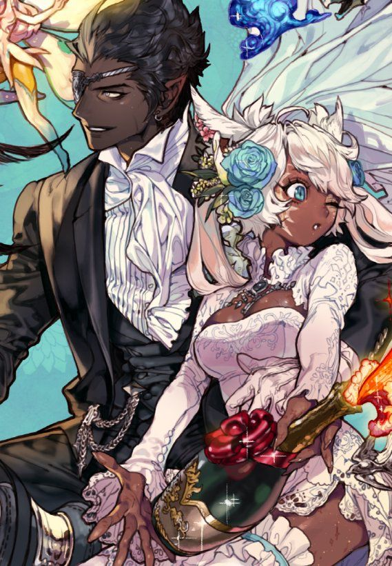 Pin by Michelle Panesa on Couple references Black anime