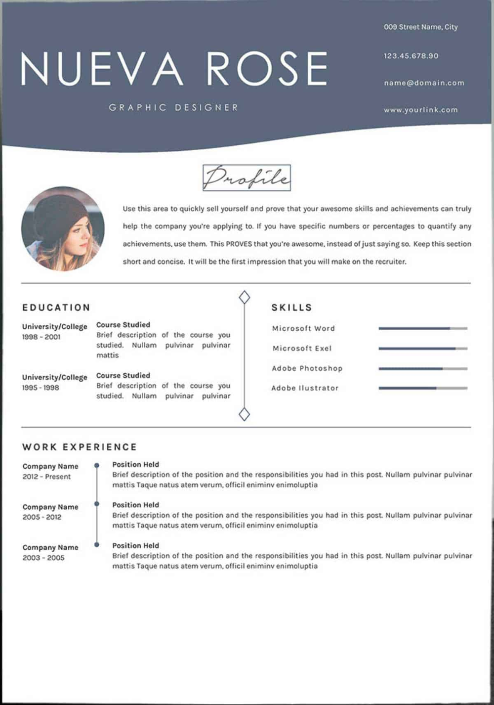 Resume Maker Free Template
