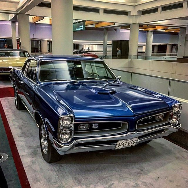 Eric Underwood Ericunderwood88 On Instagram 1966 Pontiac Gto At The 2016 Twin Cities Auto Show 2017 Starts This