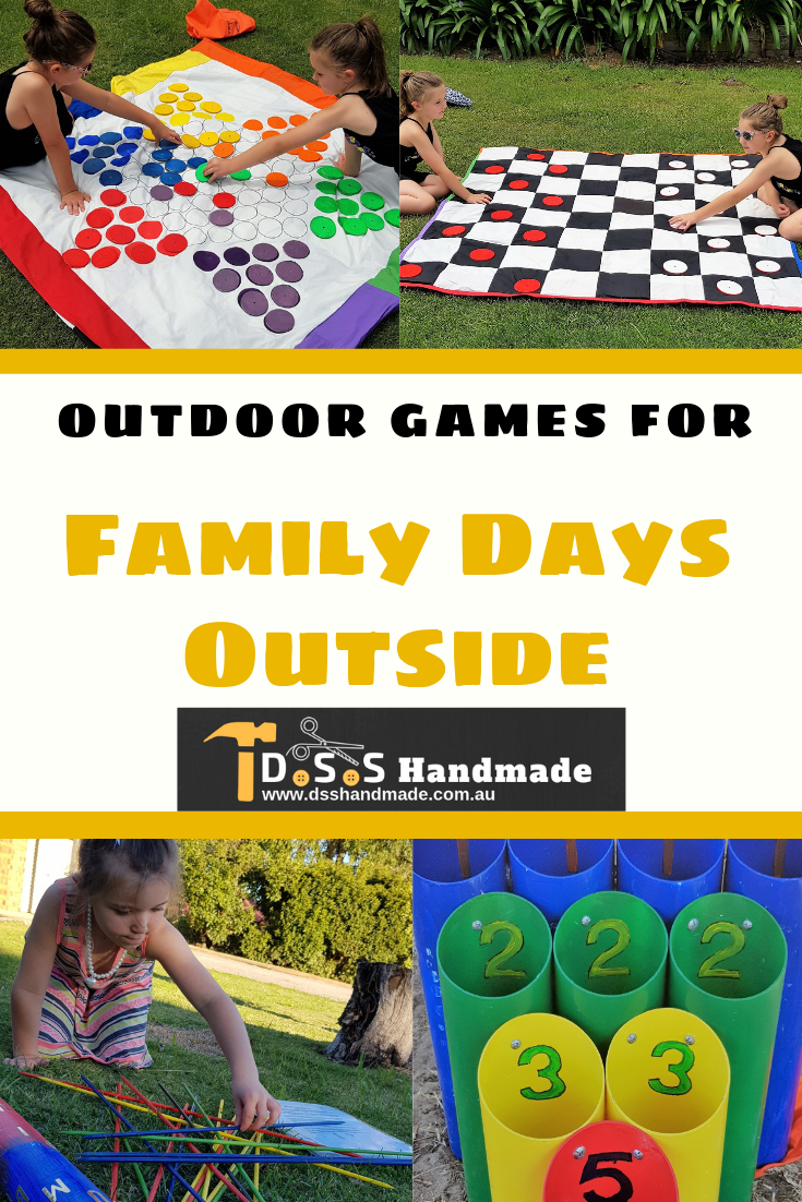 Outdoor Games for Family Fun Days Outside A great idea