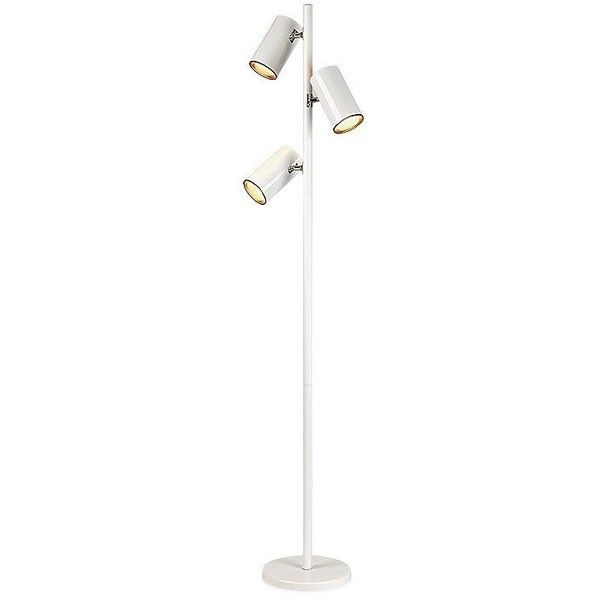 Cal lighting white three light tree floor lamp 130 liked on cal lighting white three light tree floor lamp 130 liked on polyvore mozeypictures Choice Image