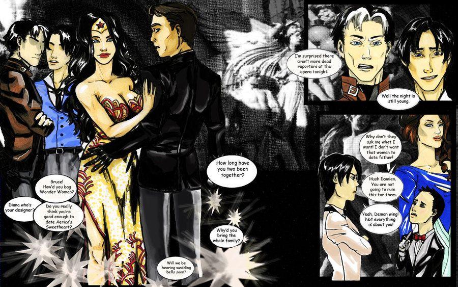 Batman and wonder woman dating