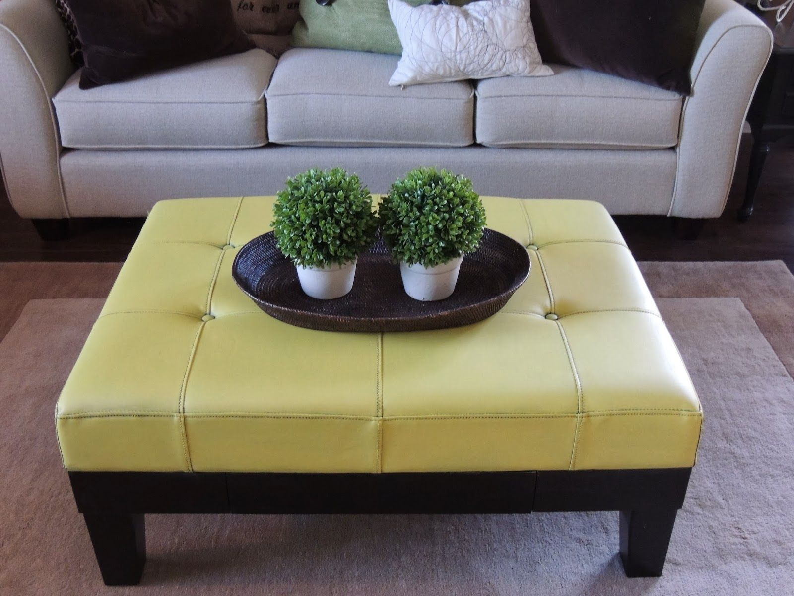 Good The Painted Table Boutique: YES!   Paint A Faux Leather Piece Of Furniture