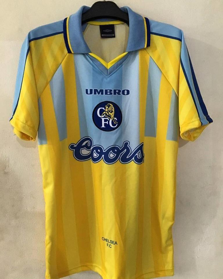 1996 97 Chelsea Away Shirt - Classic Football Shirts  e1f96d33220df