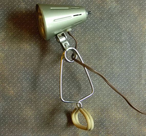 Excellent retro metal vintage clamp light industrial style spring excellent retro metal vintage clamp light by curiosityshopper publicscrutiny Image collections
