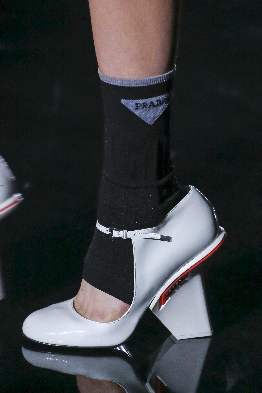 2018 Fashion Raros Ready Zapatos To Fall Prada Show Wear HC5qH7