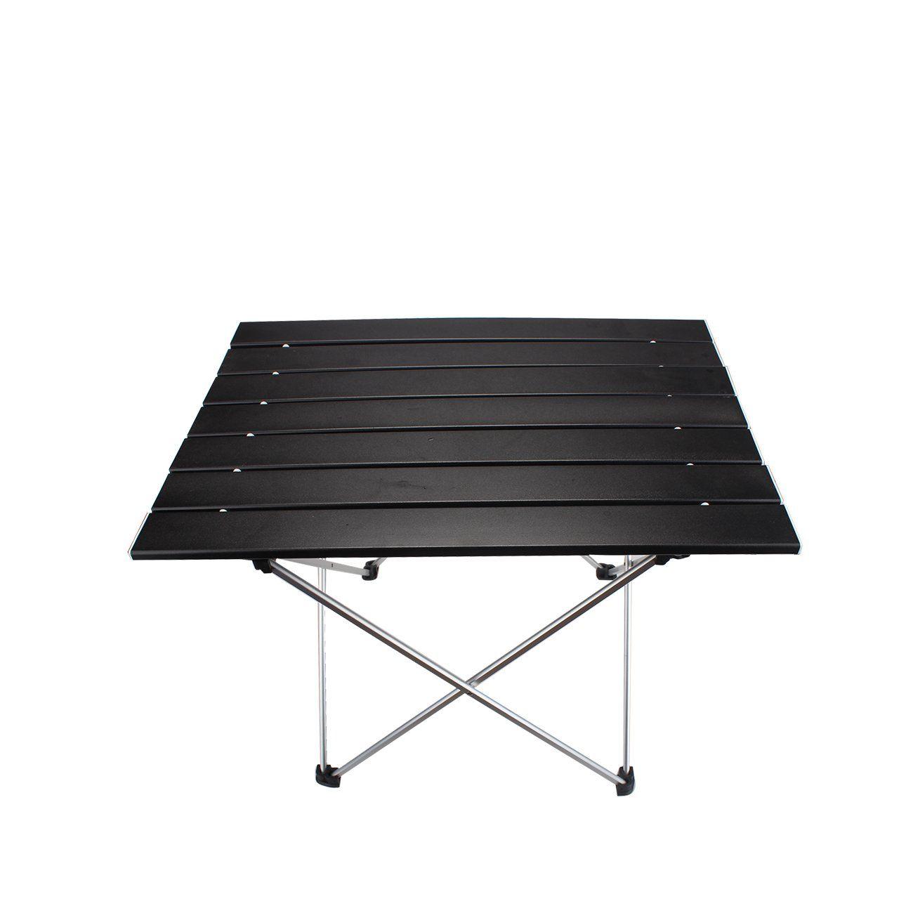 Ultralight Portable Aluminum Folding Table Holder Camping Outdoor Garden Desk