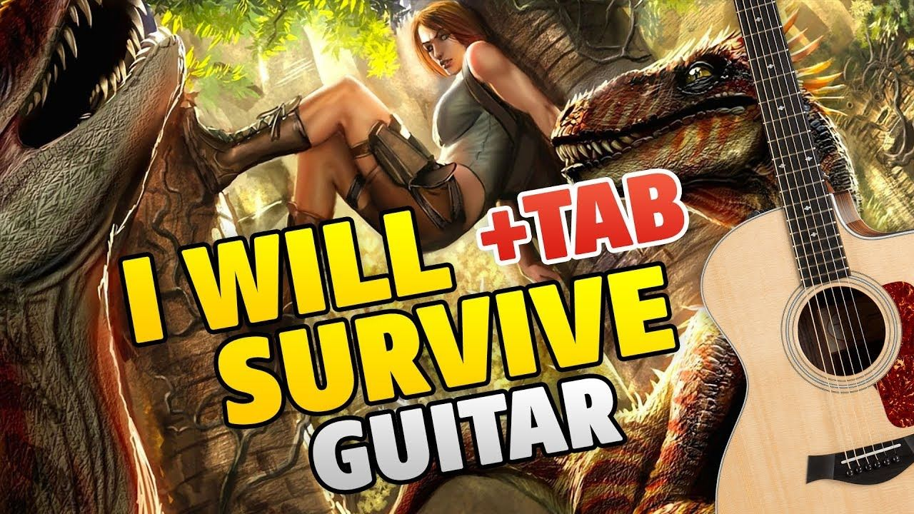 I Will Survive Guitar Cover Song By Gloria Gaynor Fingerstyle Guitar Cover Songs Fingerstyle Guitar Guitar Tabs