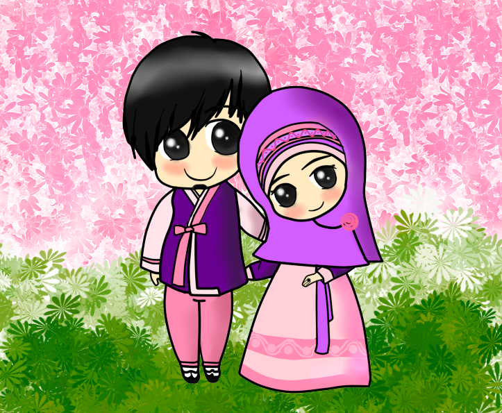 Muslim couple Muslim Anime Pinterest Muslim couples