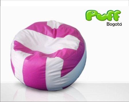 Puff Balon Voleibol, Volleybal -puf - Cuerotex - Puff Bogota
